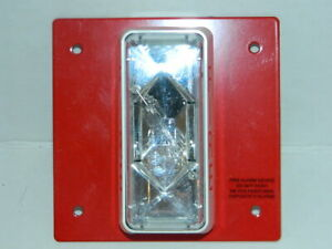 Est Edwards Cs405 8a t Fire Alarm Strobe Red 24v