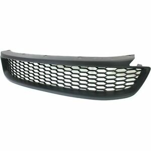 New 2013 15 Fits Honda Accord Bumper Grille Textured Black Front Side Ho1036115