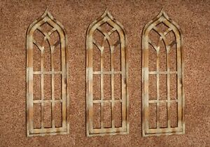 Antique Style Gothic Arch Window Frames Display Ready 35 1 2 Inch 3 Of 32