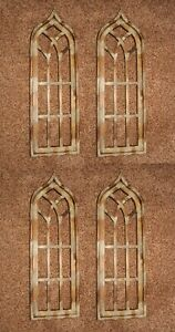 Antique Style Gothic Arch Window Frames Display Ready 35 1 2 Inch 4 Of 32