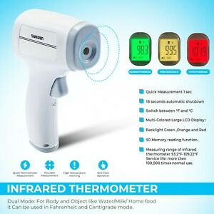 Medical Ce fda Infrared Laser Digital Thermometer Non Contact Body And Forehead