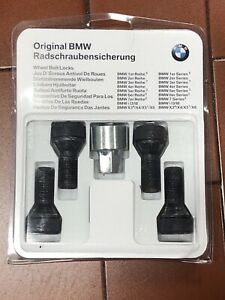 Bmw Wheel Locks Pn 36136792851 Oem