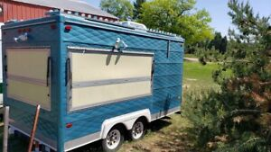 Very Clean Used 2006 8 X 14 Street Food Concession Trailer For Sale In Michiga