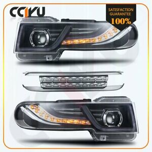 For Toyota Fj Cruiser 2007 2015 Headlights With Grille Led Halogen Projector