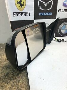 2016 2017 Dodge Ram Tow Mirror Left Side Used Oem