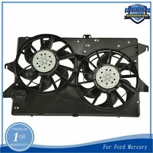 Dual Radiator A C Air Conditioning Cooling Fan Fit For Contour Cougar Mystique
