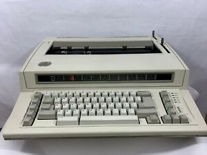 Ibm Personal Wheelwriter Model 6781 For Parts Or Repair