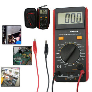 1x Lcd Display Bm4070 Lcr Meter Capacitance Resistance Inductance Self discharge