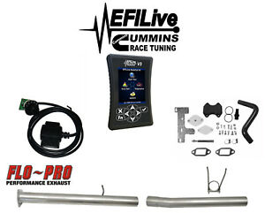 Efi Live Tuner Ram 6 7l For Cummins 13 18 Dodge Dpf Egr Delete On The Fly Csp4