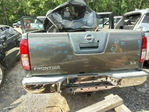 2005 2012 Frontier Trunk Hatch Tailgate W O Utility Bed Package Grey 3332404