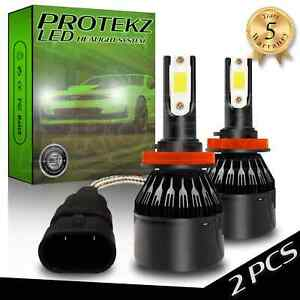 Led Kit Protekz Headlight High And Low 4 Bulbs H11 9005 Hb3 6000k 600w 60000lm