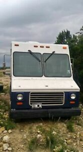 Empty Ford Step Van All purpose Food Truck Used Mobile Business Truck For Sal