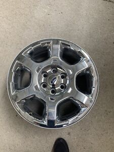 20 Ford F150 F 150 Expedition Chrome Clad Factory Oem Wheel Rim 1 One