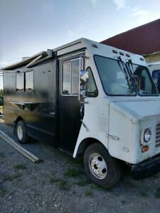 Chevrolet Box Truck Mobile Kitchen Food Truck For Sale In Ohio Kitchen Built Ou
