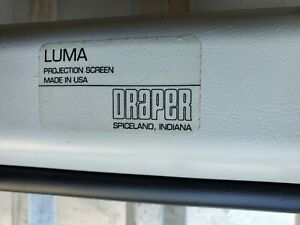 Draper 207002 Luma Manual Projection Screen 60 X 60