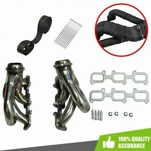 Shorty Exhaust Manifold Headers Fit 2011 2017 Ford Mustang 3 7l V6 Stainless