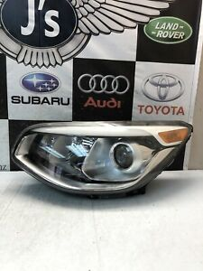 2014 2015 2016 2017 Kia Soul Left Side Proyector Type Headlight Used Oem