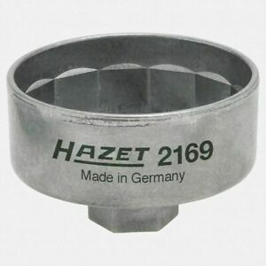 Engine Oil Filter Wrench 74 4mm 14 Point With 3 8 Drive 27mm Hazet Brand New