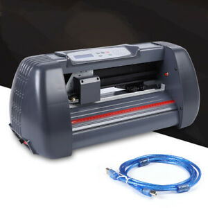 14 vinyl Cutter Plotter Paper Cutting Edges Printer Lcd Screen Sign Maker Ac110v