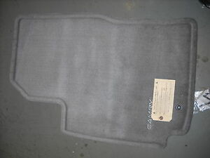 1999 2000 2001 Toyota Camry Carpet Floor Mats Blue Gray Oem 00200 32970 33
