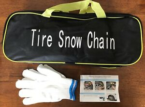 6 Pcs Snow Tire Chain For Car Truck Suv Anti Skid Emergency Mud Winter Driving
