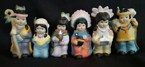 Vintage Price Product Bisque Porcelain 4 5 Figurines Lots Of 6