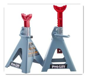 Pro Lift T 6906d Double Pin Jack Stand 6 Ton 1 Pair New Mode