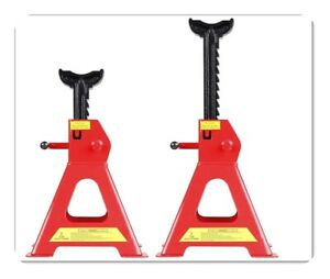 Cartman 2 Ton Jack Stands With Outer Foot Pad Sold In Pairs New Mode