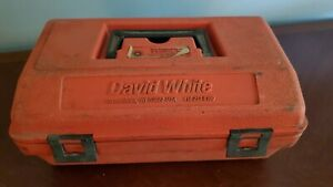David White Lp6 20 Sight Level With Case