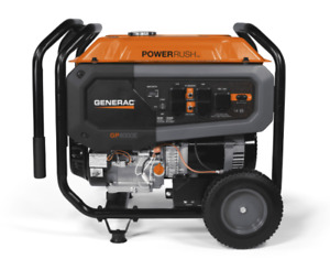 Generac 7686 Gp8000e 8 000 Watt Electric Start Portable Generator 49 St csa