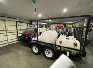 Commercial Pressure Washer Trailer
