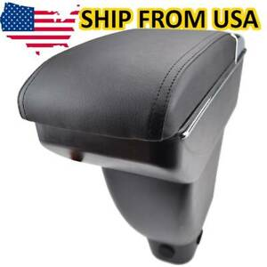 Leather Central Console Box Duel Armrest Console Comfort For Toyota Bb Scion Xb