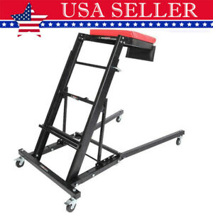 Foldable Creeper Adjustable Height For Workshop Automotive Car Truck Us Ship