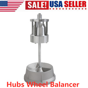 Portable Wheel Balancer Bullseye Bubble Level Tire Hub Rim Home Diy Car Truck
