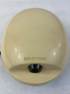 Boston Electric Pencil Sharpener Back Home School Beige Ao 3845 Oval Fast Ship