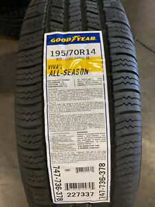 4 New 195 70 14 Goodyear Viva 3 All Season Tires