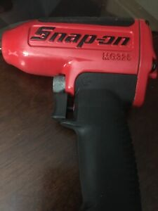 New Snap On Tools 3 8 Drive Red Super Duty Air Impact Wrench Mg325 Ships Free