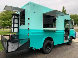 Low Mileage Gmc Diesel Step Van Food Truck With A Commercial Kitchen For Sale In