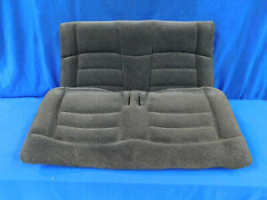 94 95 96 97 98 Mustang Convertible Black Rear Cloth Seat Upper Lower Seats G63