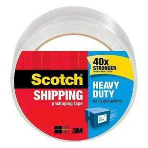 Scotch Heavy Duty Shipping Packaging Tape 1 88 In X 60 15 Yd Pack Of