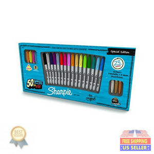 Sharpie Fine Point Permanent Markers 23 pkg special Edition 1909897