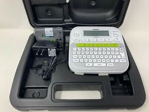Brother P touch Easy Compact Label Maker printer System Pt d210 W case