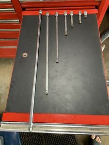 Snap On 3 8 Extension Set 1 24 Fx24a Fx18 Fx12 Fx6 Fx4a Fxw3 Fx1