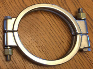 4 Sanitary Clamp High Pressure Tri Clamp Clover Stainless Steel