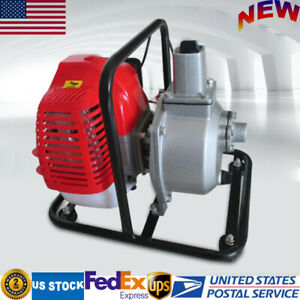43cc 2hp 2 stroke Single Cylinder Air cooled Petrol Engine Water Transfer Pump