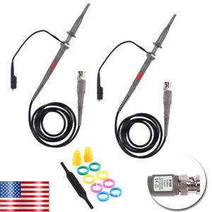 Oscilloscope Probe Scope Clip Test Cable Lead Kit For P6100 Fluke Tektronix Usa