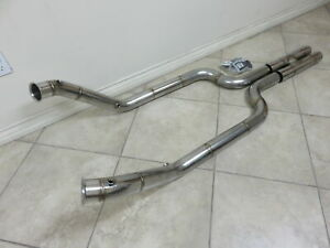Mercedes benz 2006 2013 W221 S65 Amg V12 Stainless Steel Downpipe Exhaust Kit