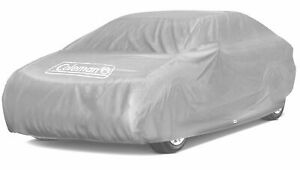 Coleman Full Car Cover Outdoor Indoor Waterproof Dust Heat Cover Size Small