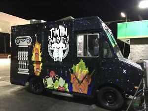 Well equipped Turnkey Chevy P30 12 Step Van All purpose Food Truck For Sale In