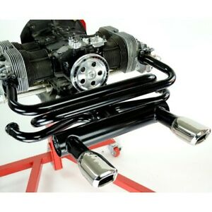Square Tip Exhaust For Type 1 Vw Engines Raw Dunebuggy Vw